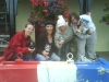 French Fancies - First female crew across the line!