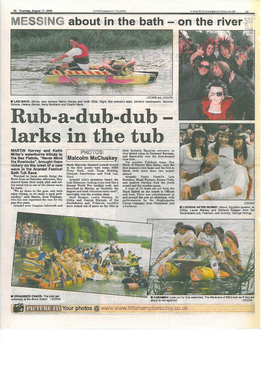 Littlehampton Gazette 2006