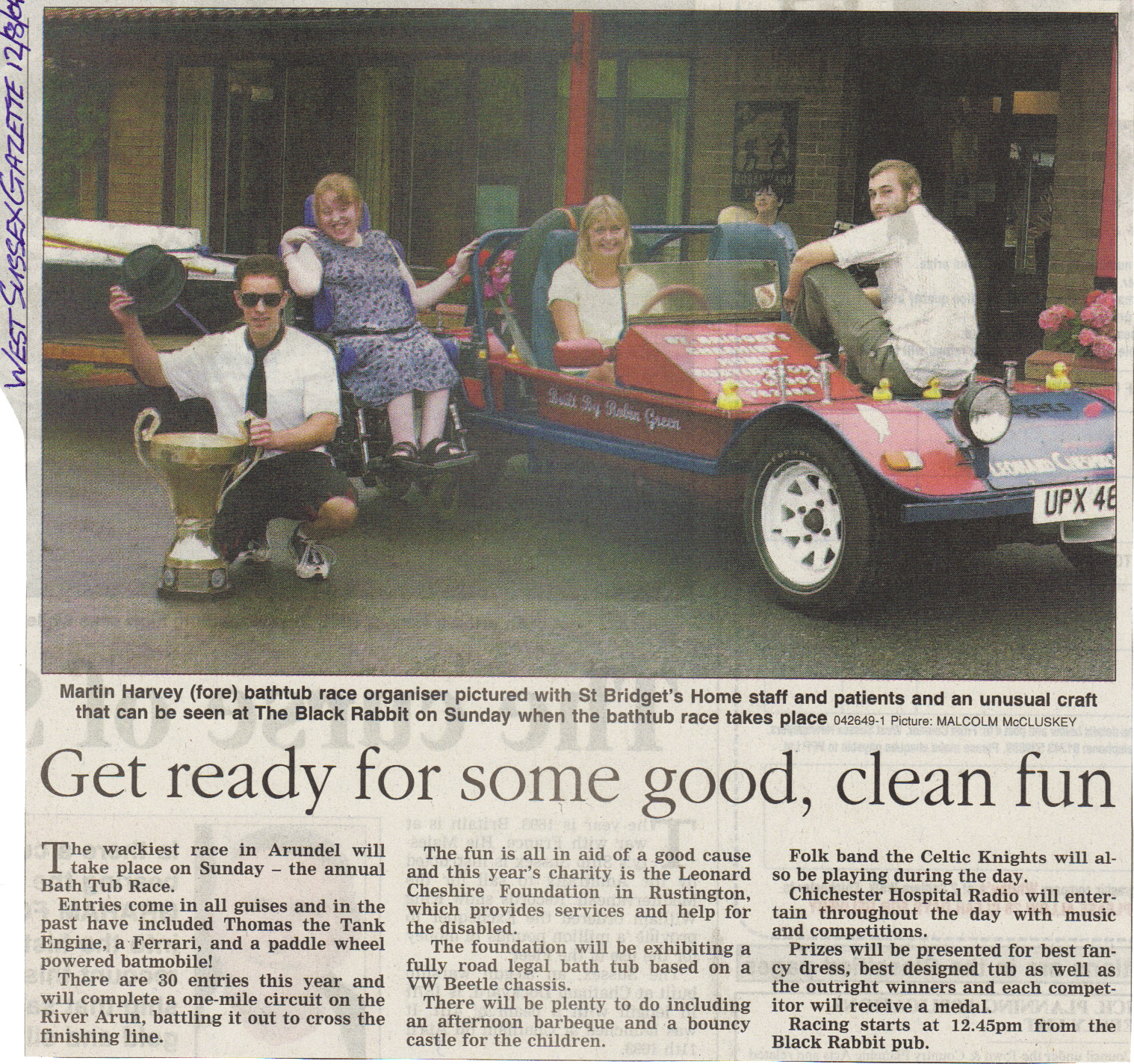 West Sussex Gazette 2004