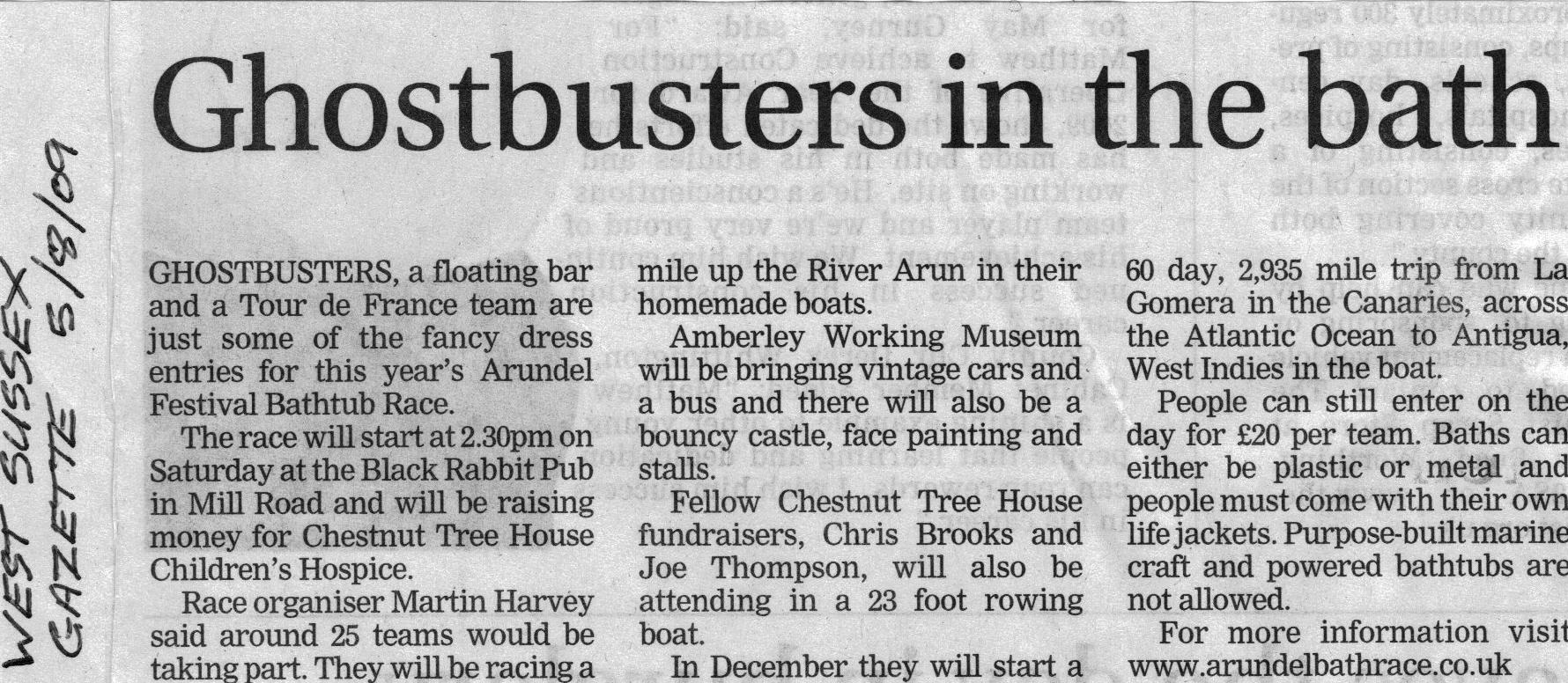 West Sussex Gazette 2009