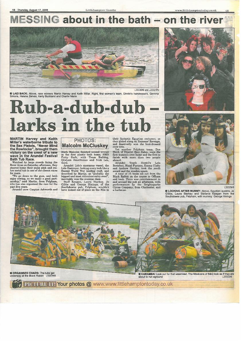 Littlehampton Gazette 2006