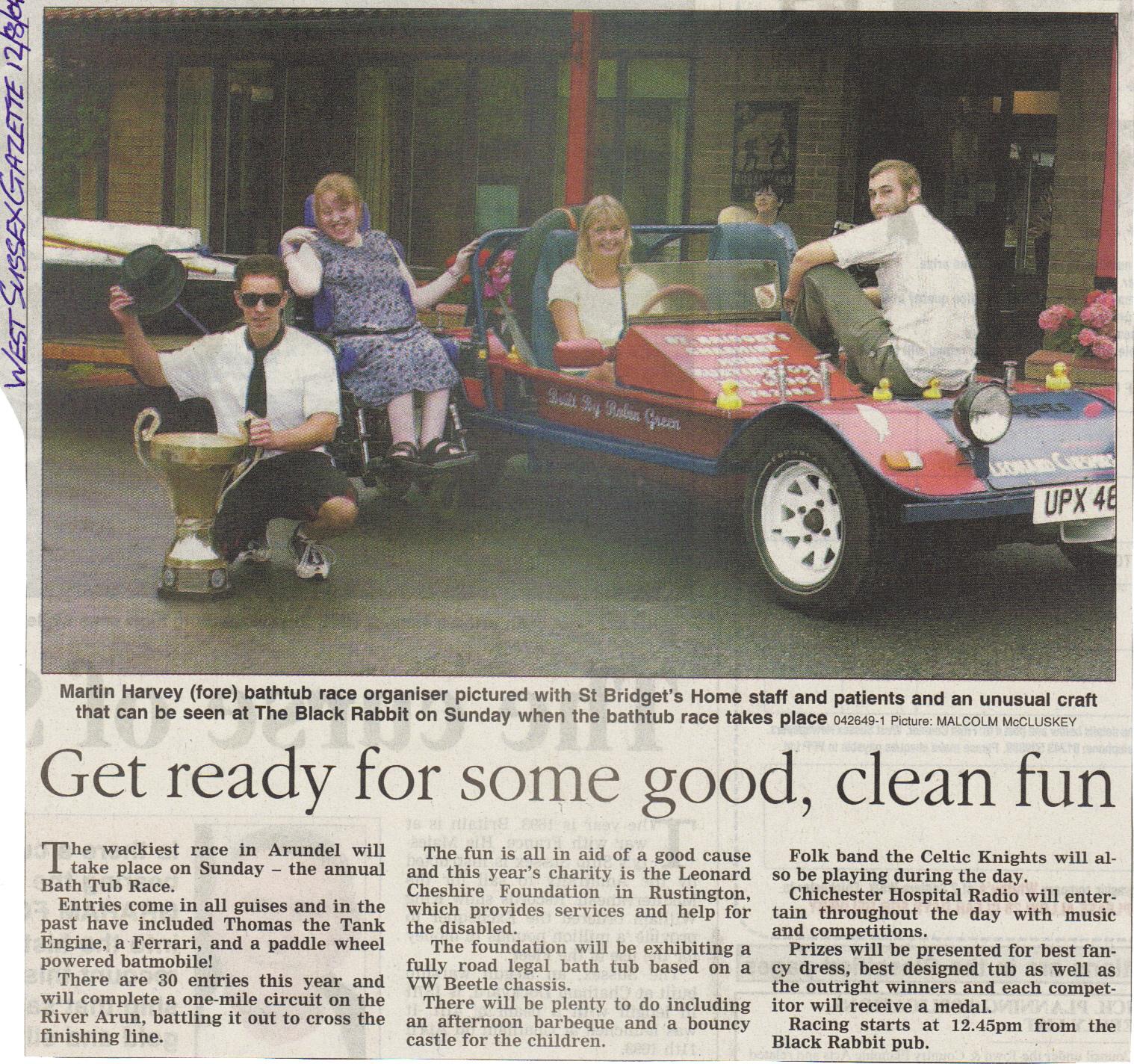 West Sussex Gazette 2004