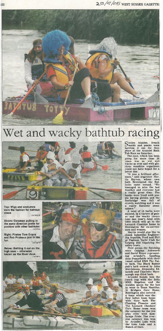West Sussex Gazette 2005