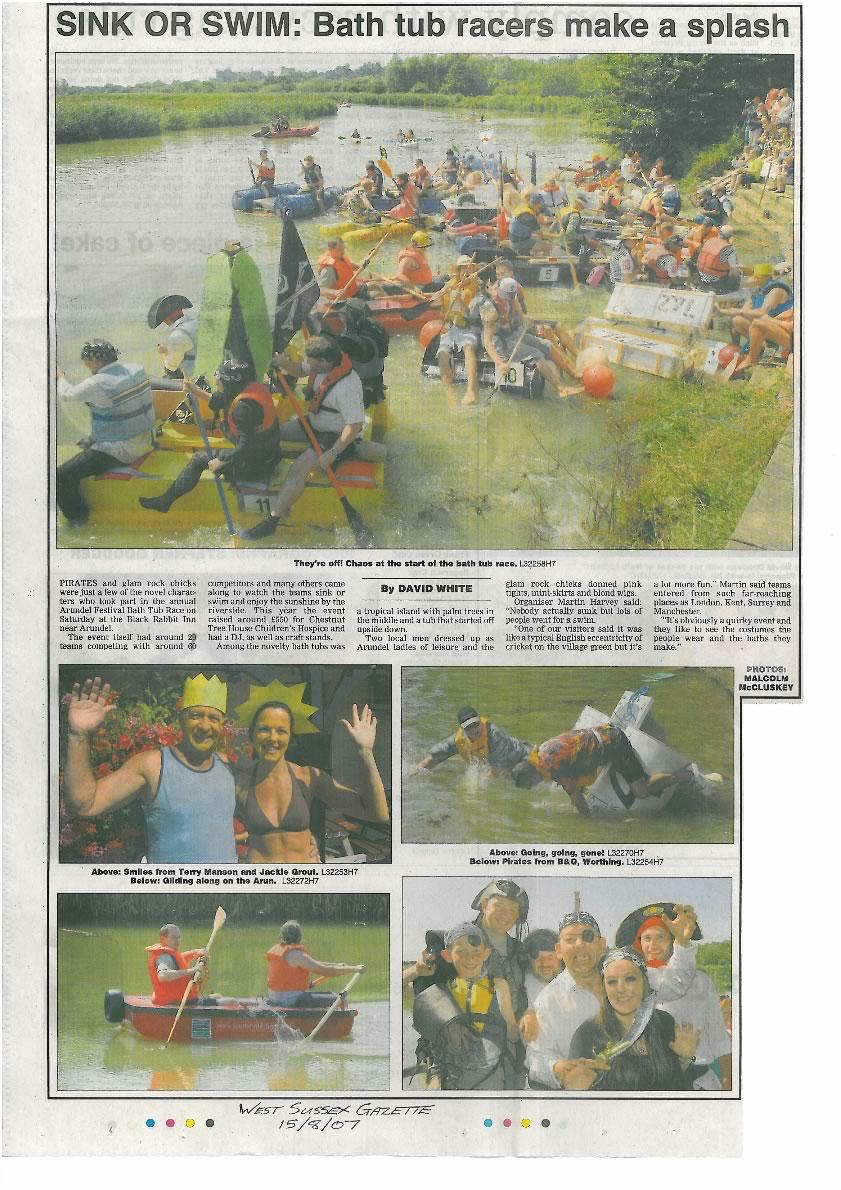 wWest Sussex Gazette 2007